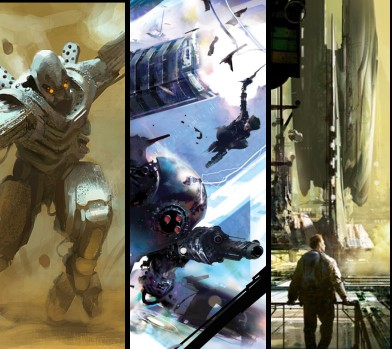Science fiction artists